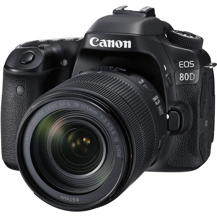 دوربین کانن Canon EOS 80D Kit 18-135mm f/3.5-5.6 IS USM