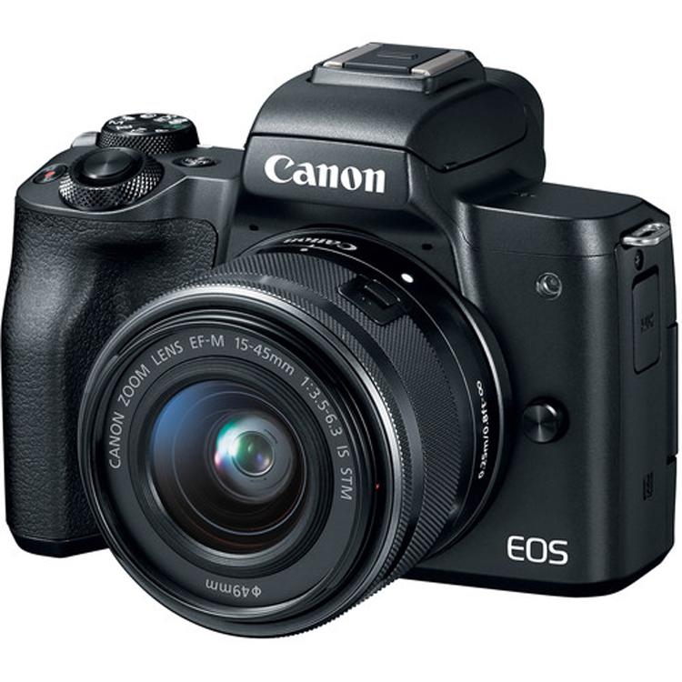 دوربین بدون آینه کانن Canon EOS M50 kit 15-45mm black