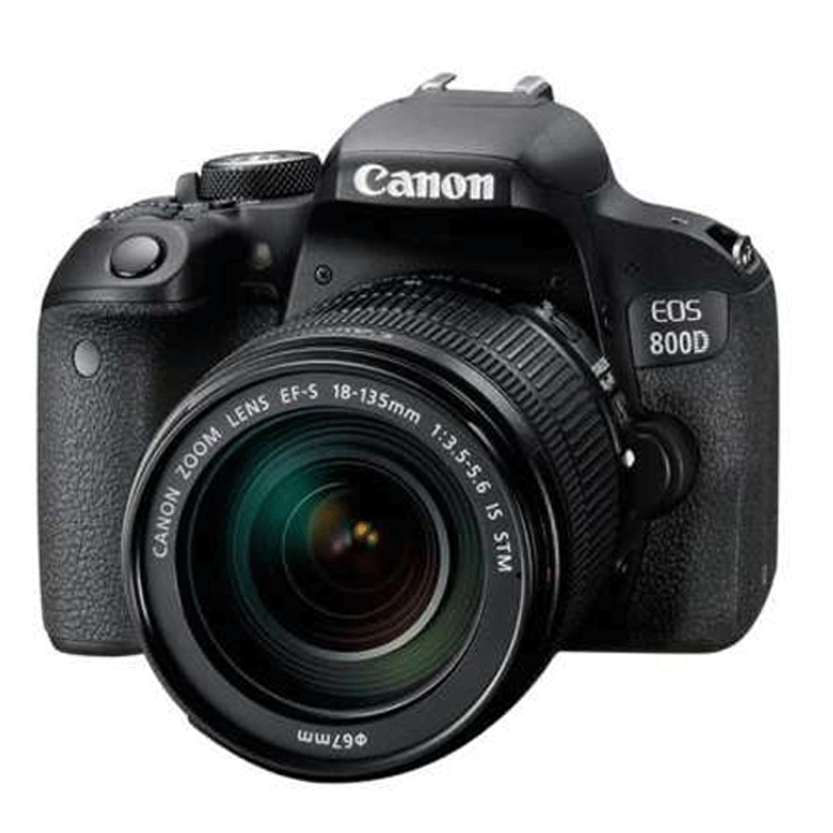 دوربین عکاسی کانن Canon EOS 800D Kit 18-135mm f/3.5-5.6 IS STM