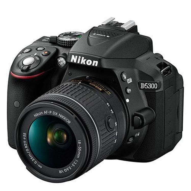 دوربین عکاسی نیکون Nikon D5300 Kit 18-55mm f/3.5-5.6 G AF-P VR