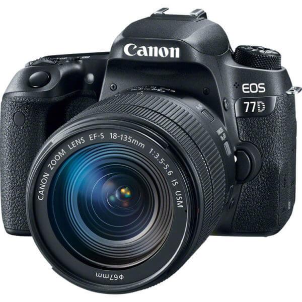 دوربین عکاسی کانن Canon EOS 77D Kit 18-135mm f/3.5-5.6 IS USM