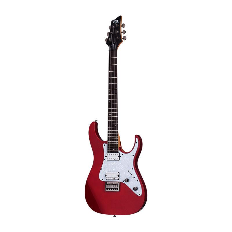 گیتار الکتریک Schecter Banshee-6 SGR Metallic Red MRED SKU