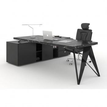 میز مدیریتی فرم و فضا مدل دارک